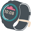 時計(GPS機能付き腕時計)